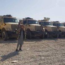 Sawirro: Dagaalyahannada Taliban oo dagaal ku qabsaday 120 gaari iyo saanado hub ah!