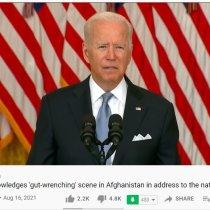 Joe Biden oo qiray in dalka Afghanistan uu yahay Xabaalaha soo duulayaasha [Dhageyso Warbixin].